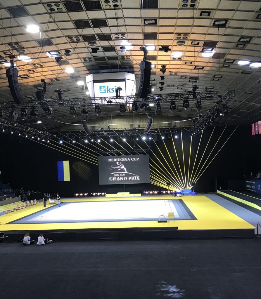 "Grand Prix ""Deriugina Cup"" à Kiev ( Ukraine)"